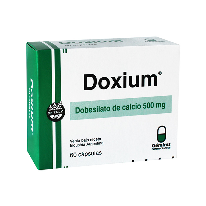 Side effects of Doxium (500 mg)